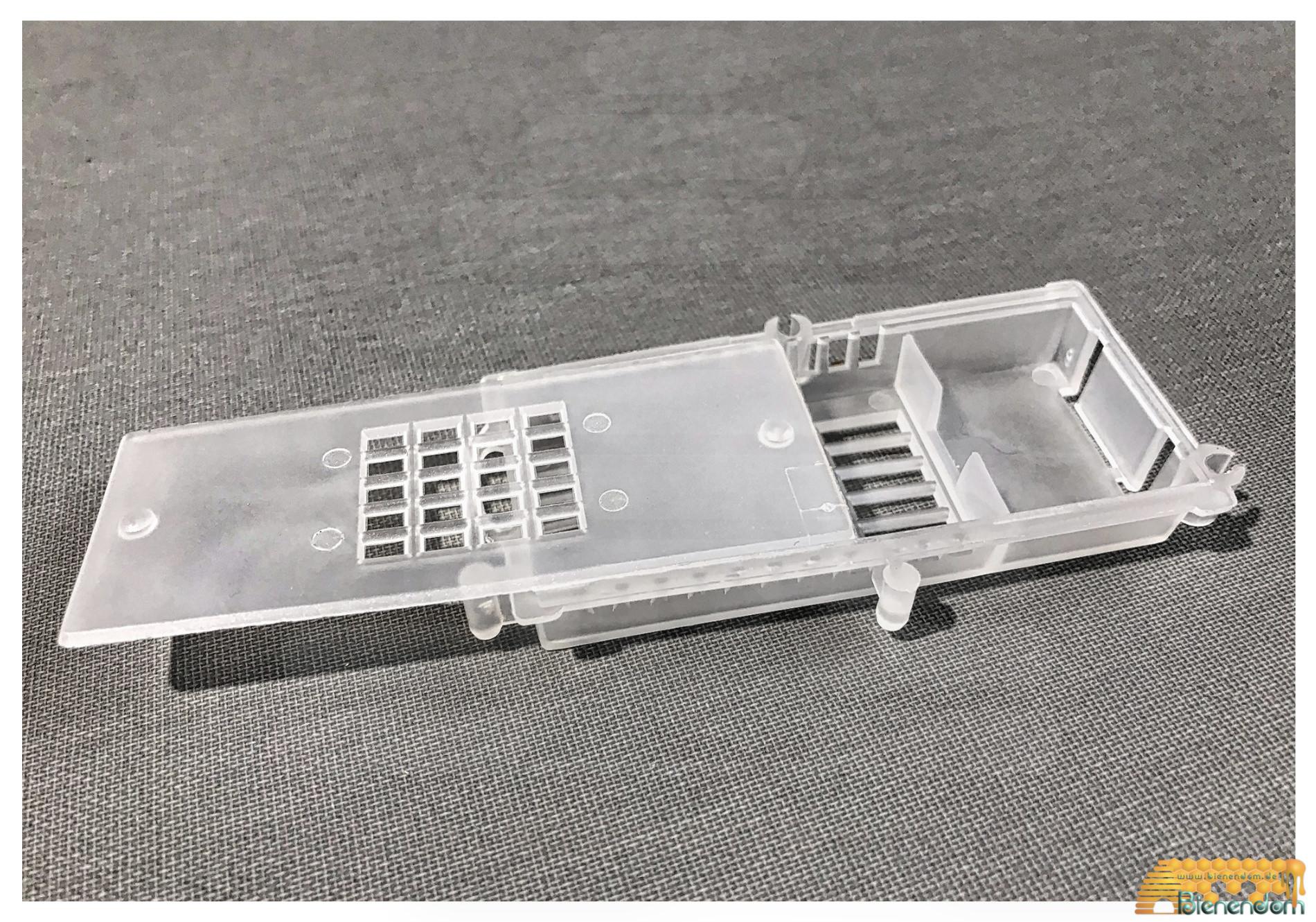 Versandkäfig mit Verbindungsmöglichkeit | Kunststoff | weiß