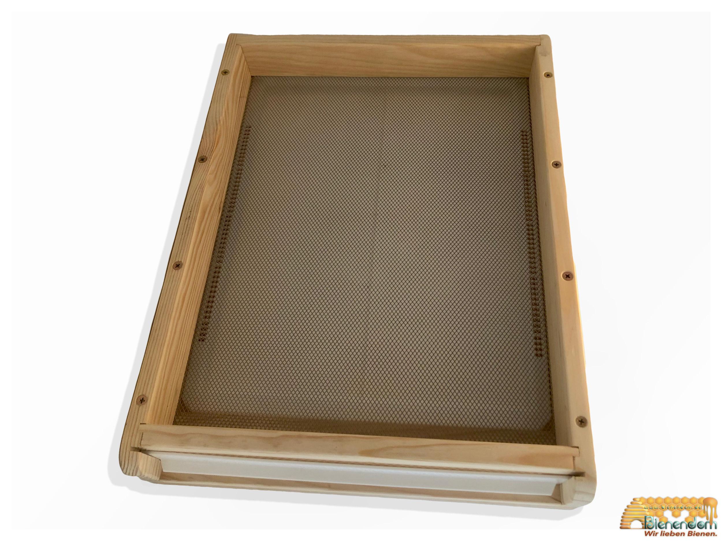Premium Boden flach | Holz | für Liebig-Beute Zandermaß | inkl. Nicot Zubehör