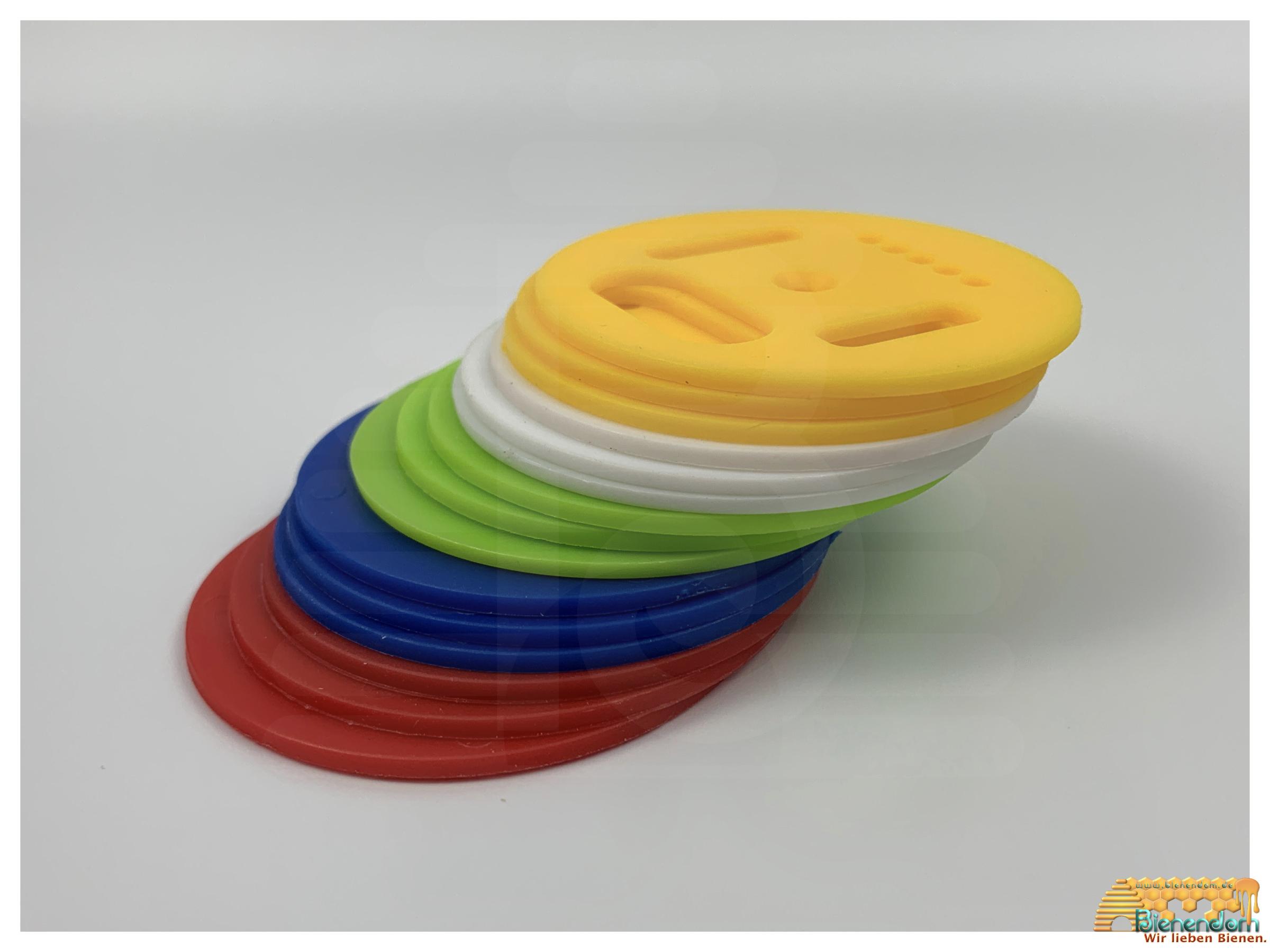 Fluglochrosette | Kunststoff | 5 Farben