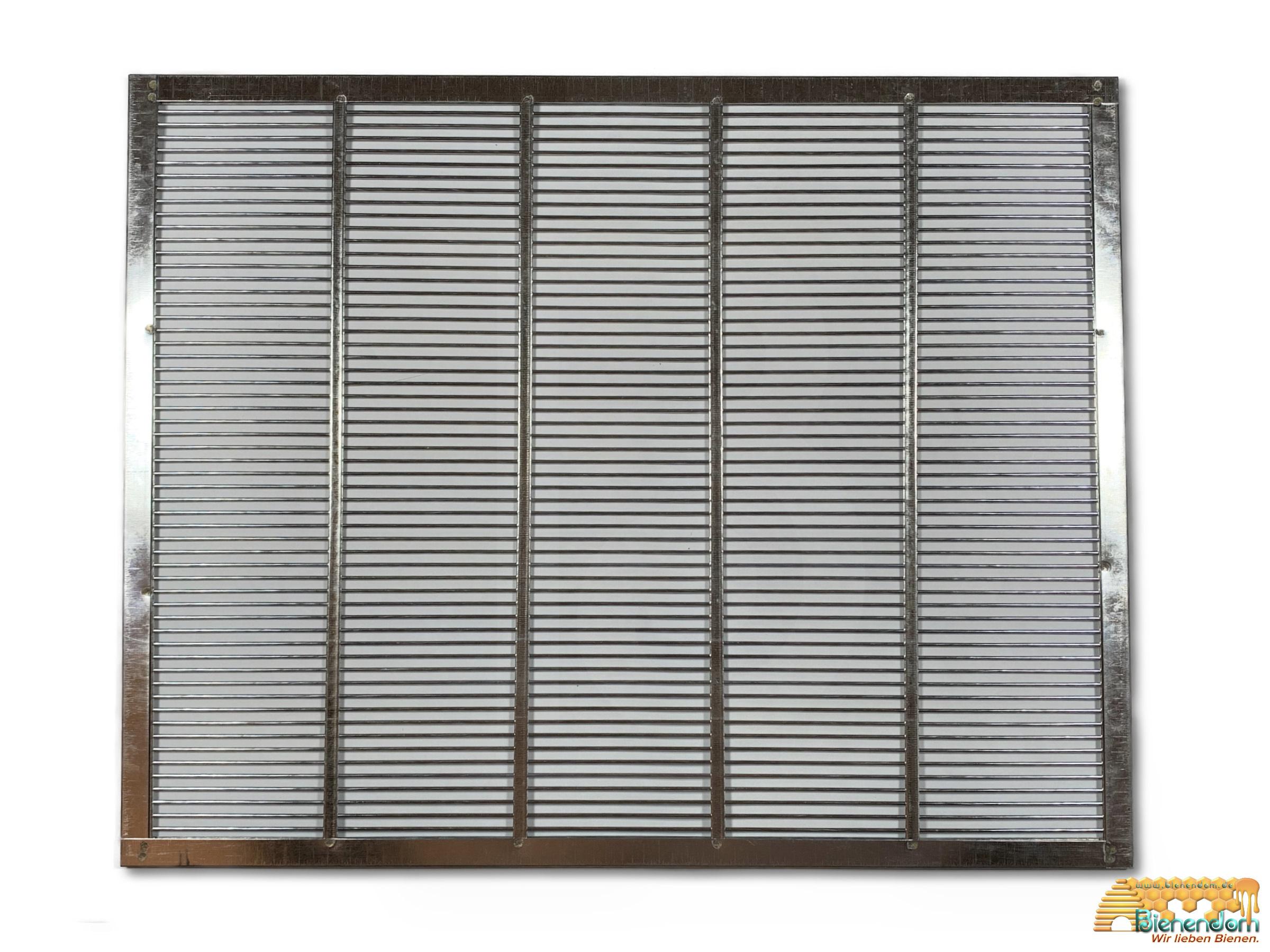 Absperrgitter | Liebigbeute | Metall | 476 x 377mm | ca. 10 Waben