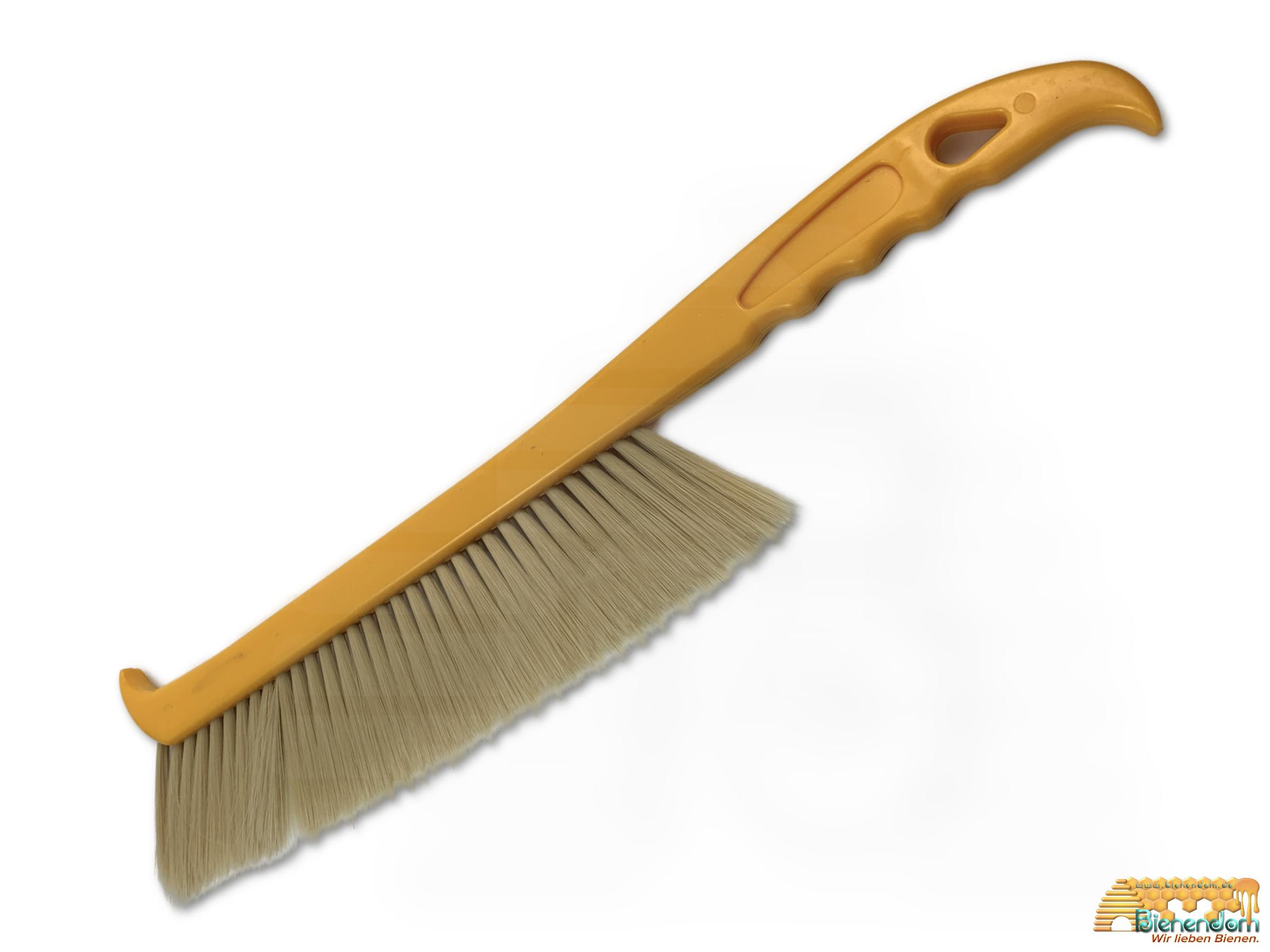 Abkehrbesen groß | weich| Kunststoff | gelb