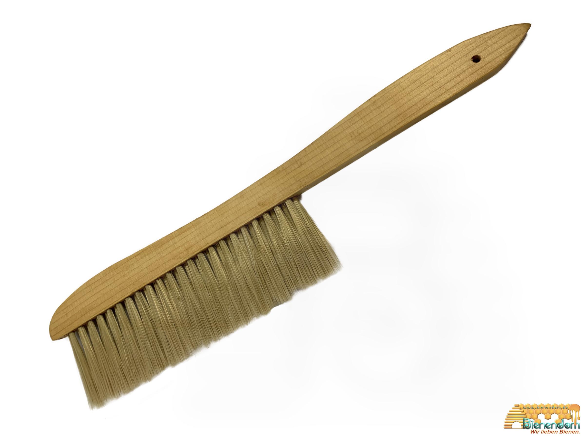 Abkehrbesen medium | weich | Holzgriff