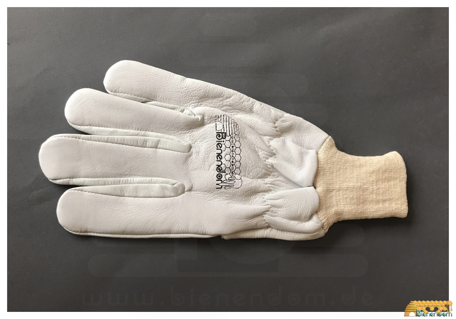 Imkerhandschuh aus Leder kurz