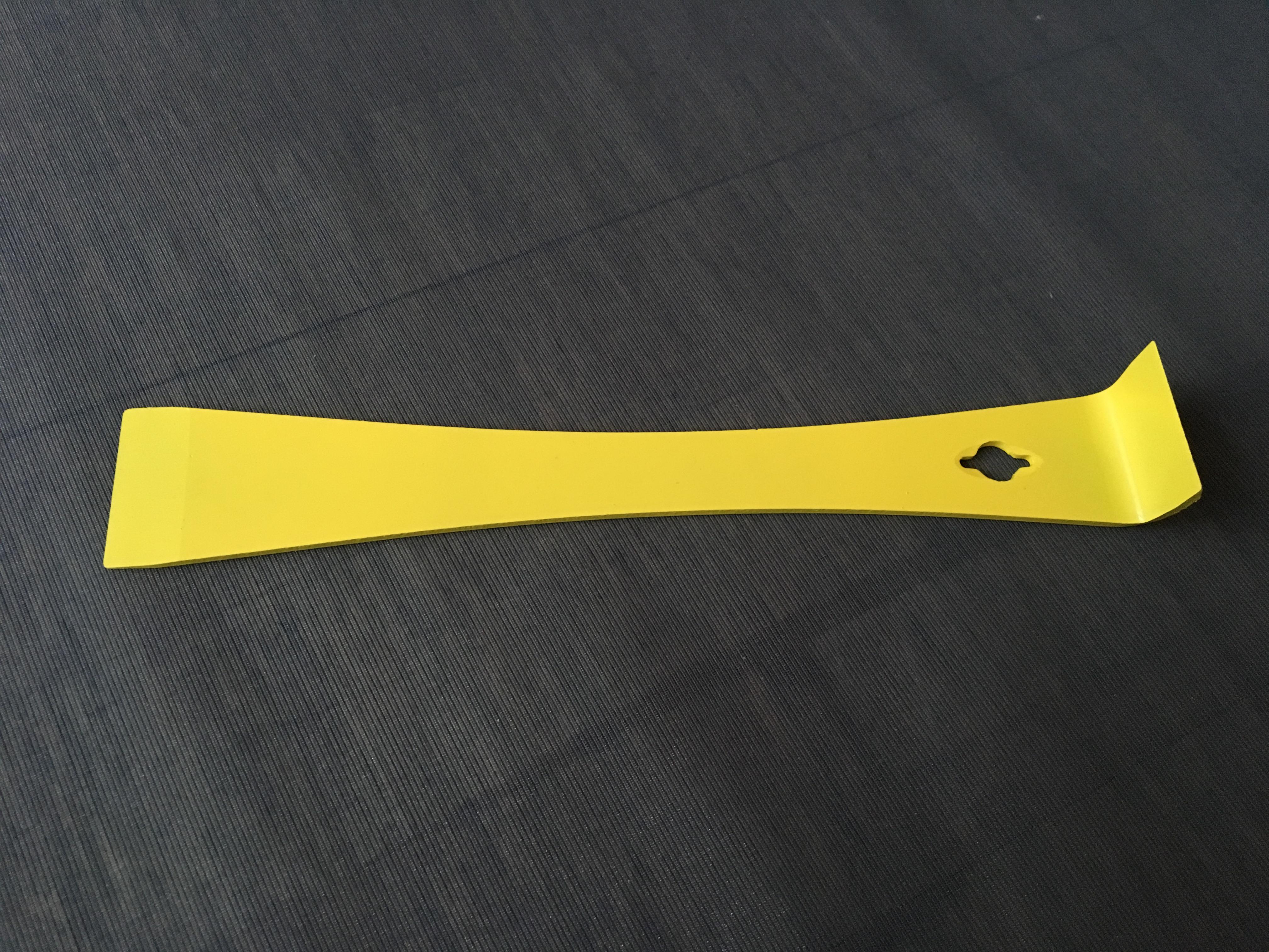 Stockmeißel gelb | Edelstahl 25.5cm SGG-25.5 | Bienendom