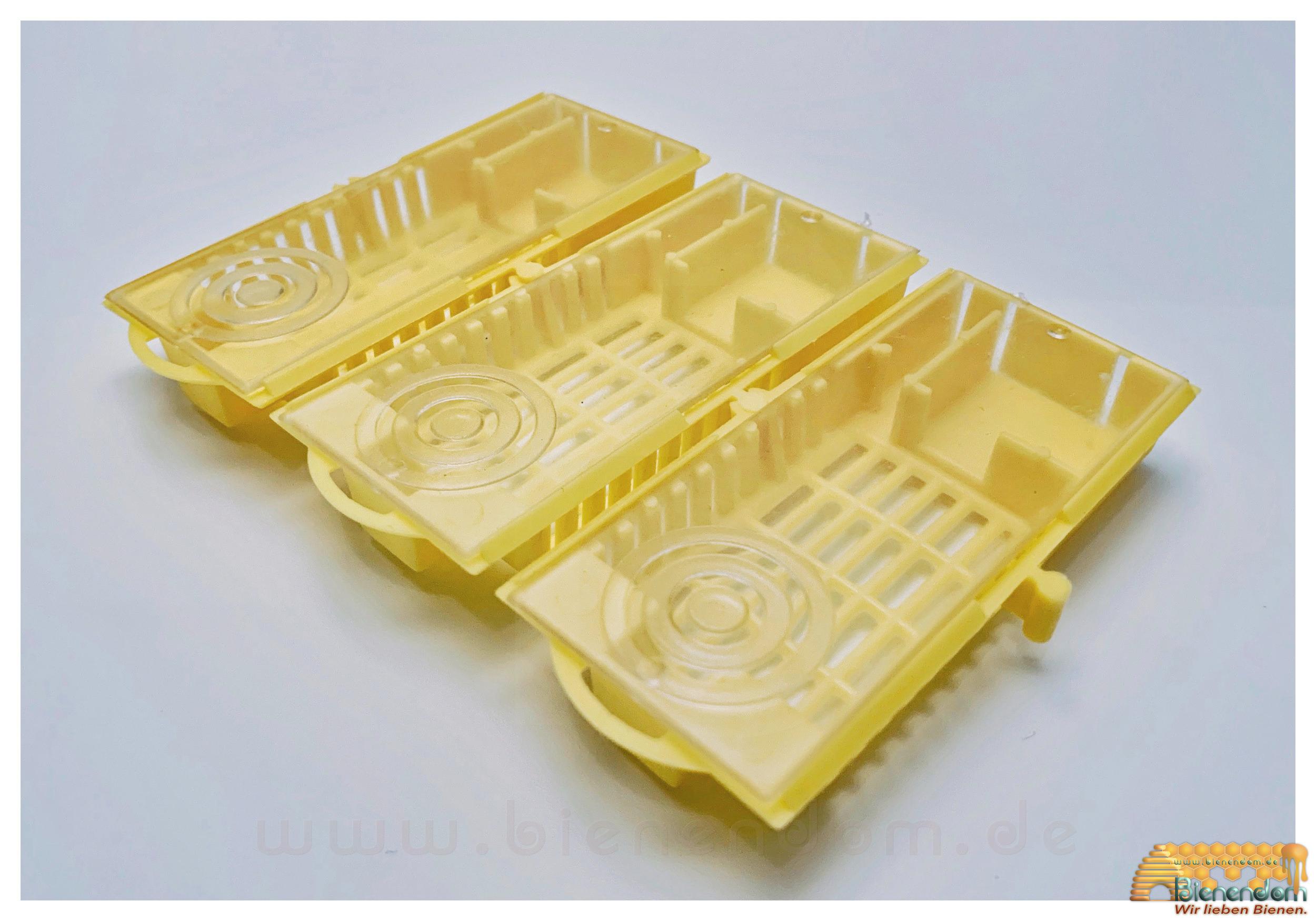 Versandkäfig mit Verbindungsmöglichkeit | Kunststoff | gelb