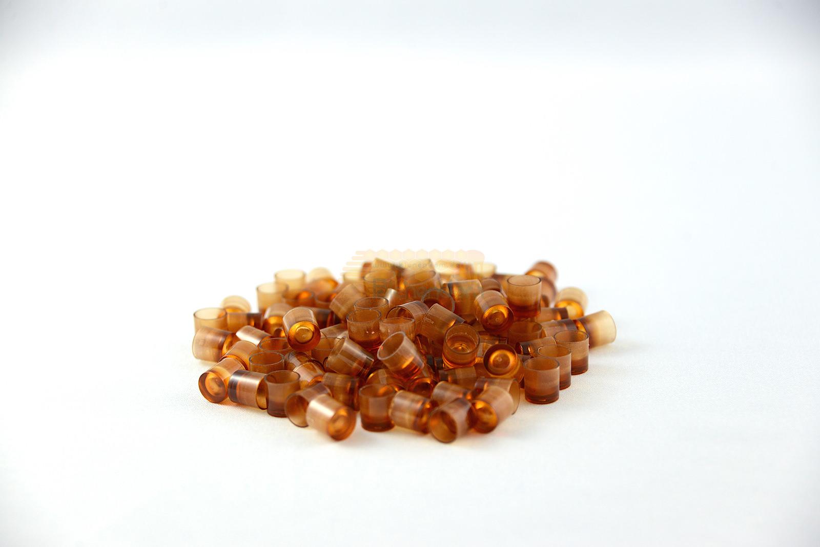 Weiselnäpfchen | Kunststoff | braun | 100er Beutel | Nicot