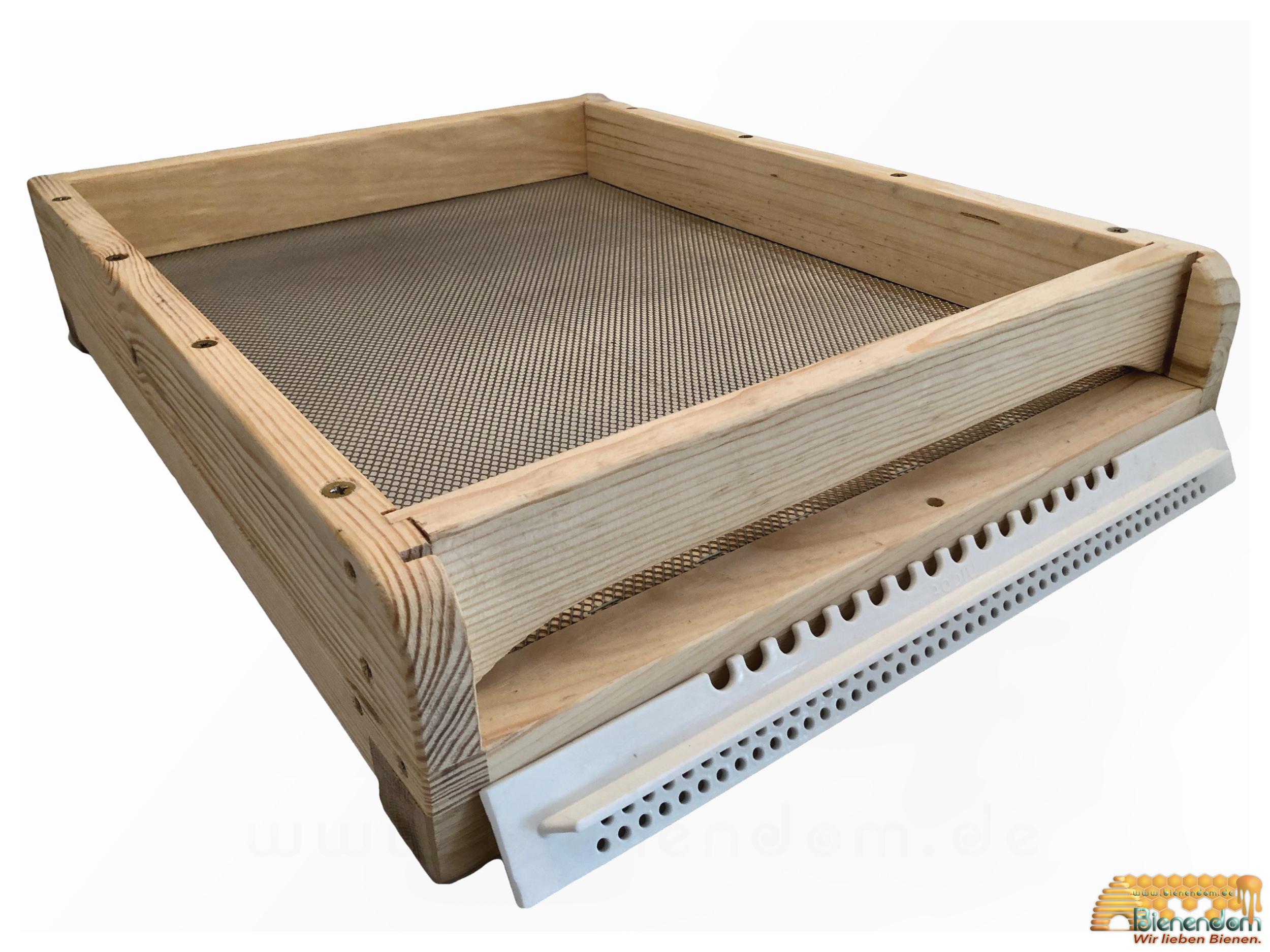 Premium Boden hoch | Holz | für Liebig-Beute Zandermaß | inkl. Nicot Zubehör