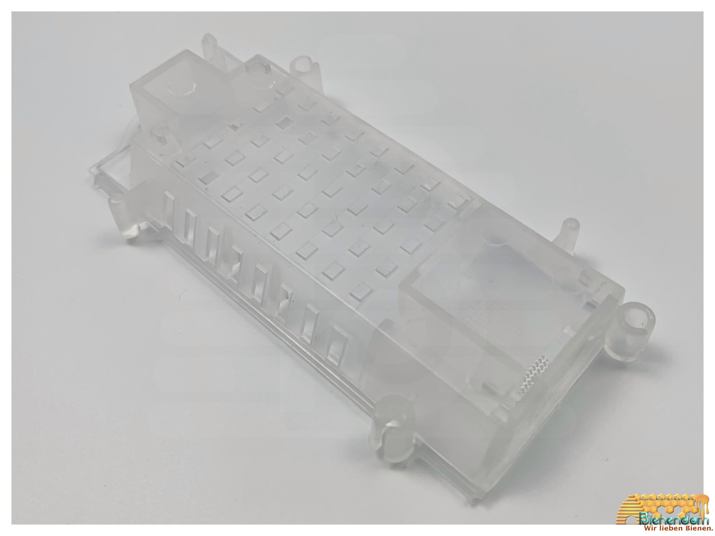 Versandkäfig mit Verbindungsmöglichkeit | Kunststoff | transparent