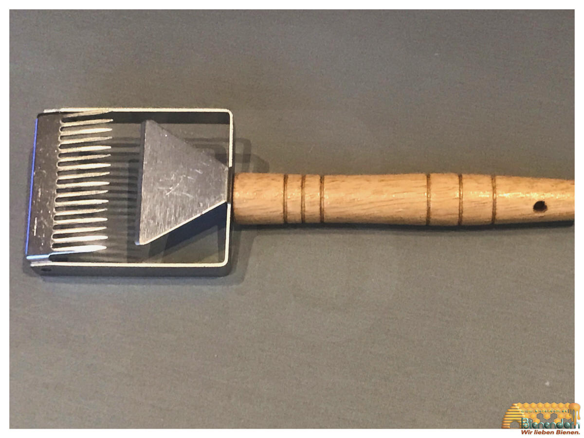 Entdeckelungsgabel Super Cut | Edelstahl - Holz
